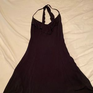 HOLLISTER - Midi Black Dress